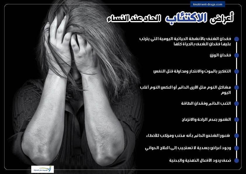 الاكتئاب الحاد عند النساء