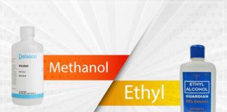 الفرق بين الكحول الايثيلي والميثيلي